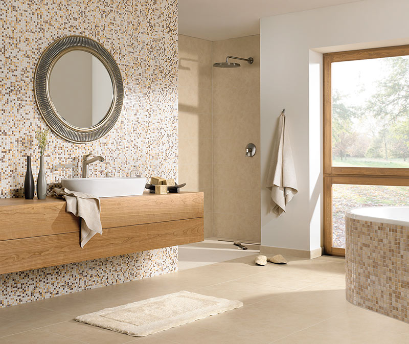 fliesen im bad cheap fein badezimmer with fliesen im bad peaceful inspiration ideas braune. Black Bedroom Furniture Sets. Home Design Ideas